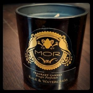 Mor Cosmetics Kale & Watercress scented candle